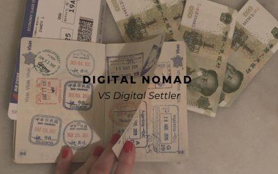 Digital Nomad VS Digital Settler